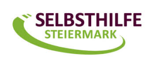 "Logo zeigt den Schriftzug ""Selbsthilfe Steiermark"""